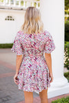 All Floral Everything Dress- Ivory