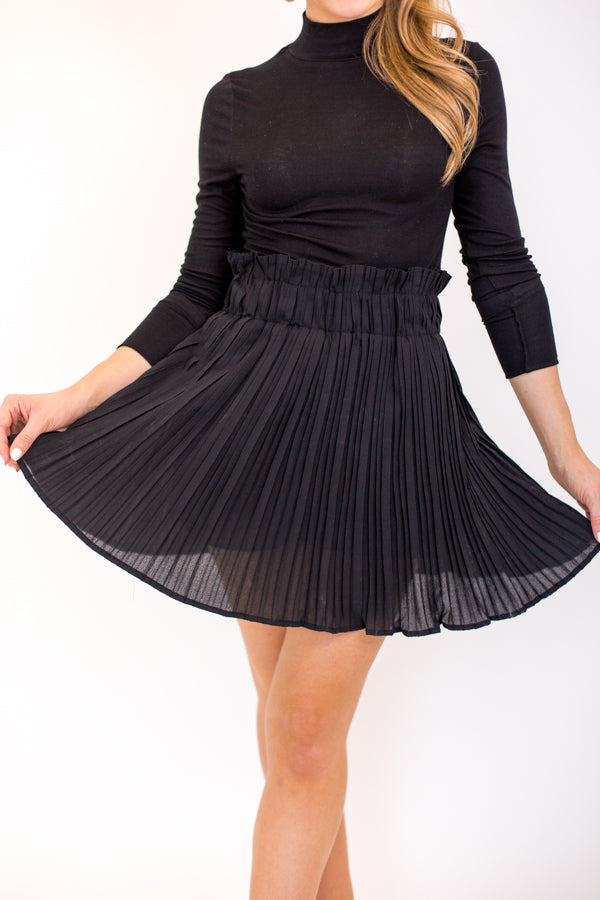 Sway This Way Skort - Black