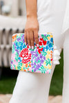 The Riley Makeup Bag - White