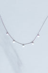 Five Drops Necklace- Silver