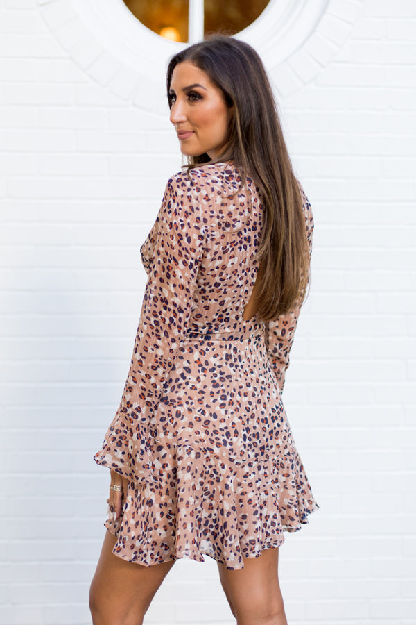 Motivated & Caffeinated Dress - Mocha