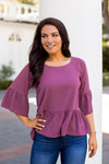 Make An Impression Top- Mauve