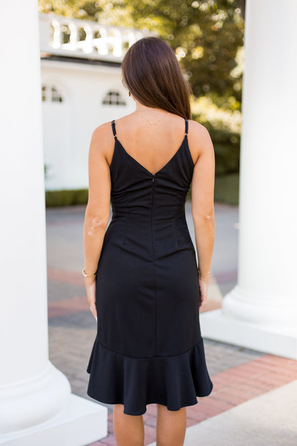 Formally Invited Dress - Black