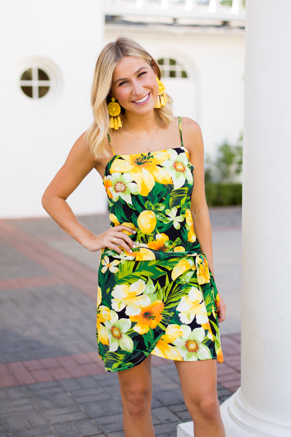 Luau Wrap Dress