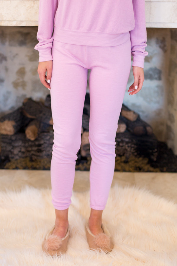 Wildfox Knox Pants- Orchid