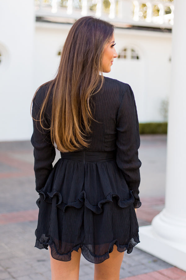 More Than A Moment Dress - Black