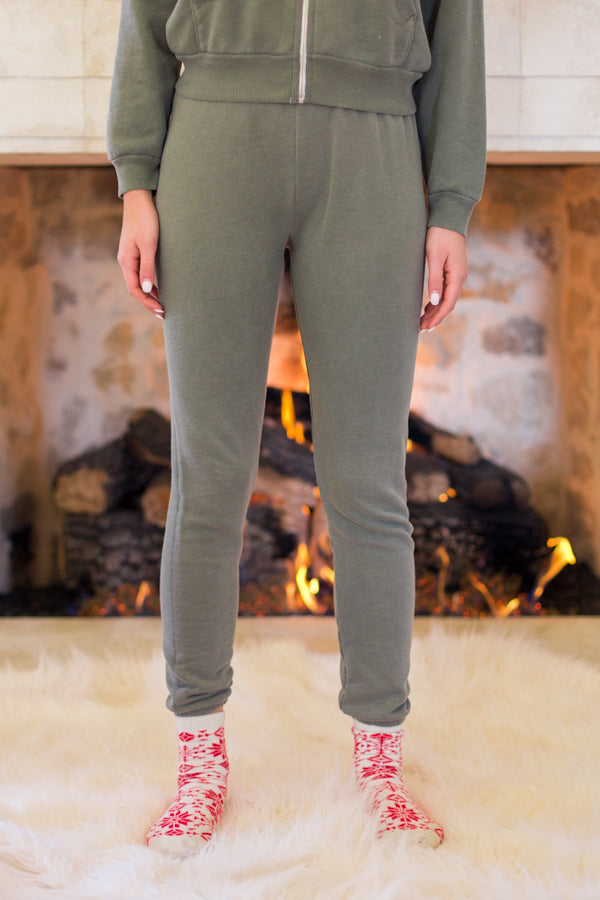 Wildfox Knox Pants- Pigment Forest