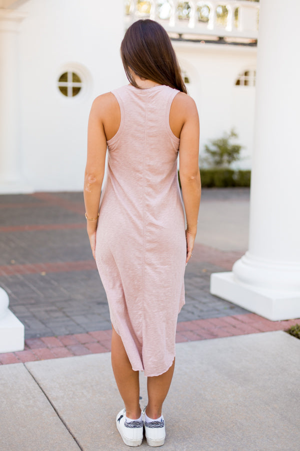 Z Supply Midi Dress - Mauve