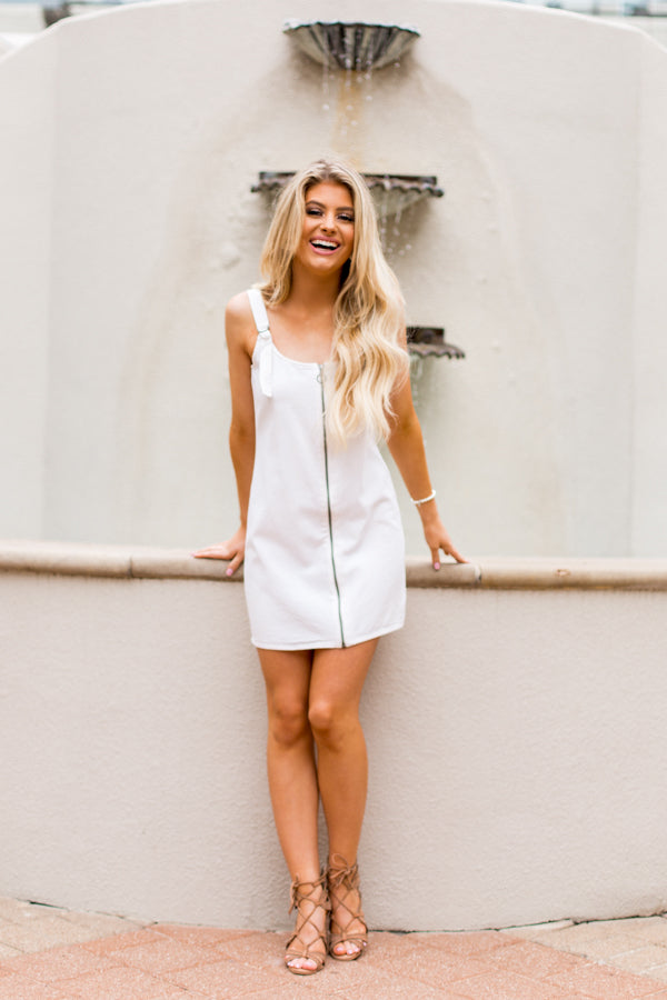 Amuse Society Beatriz Dress- Off White