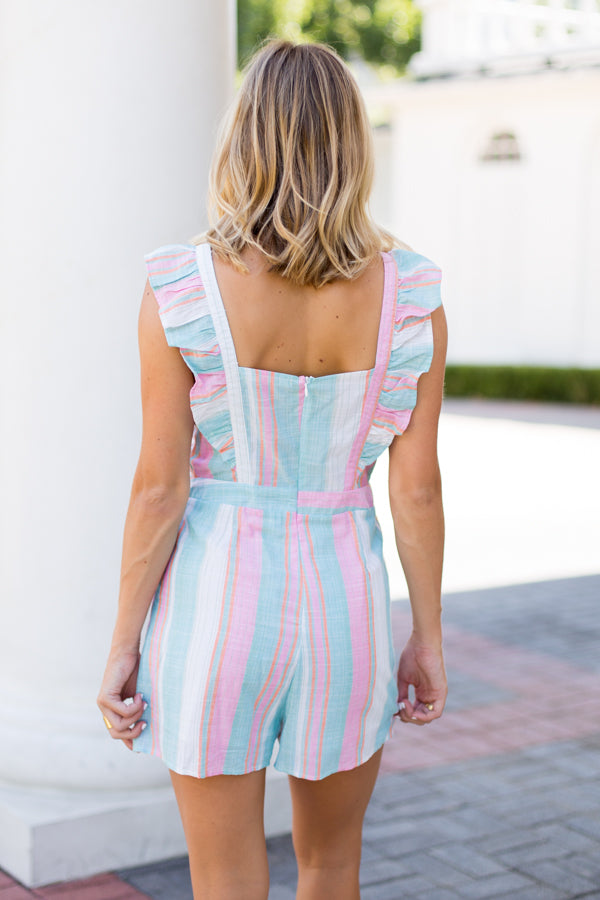 Pretty In Pastel Romper