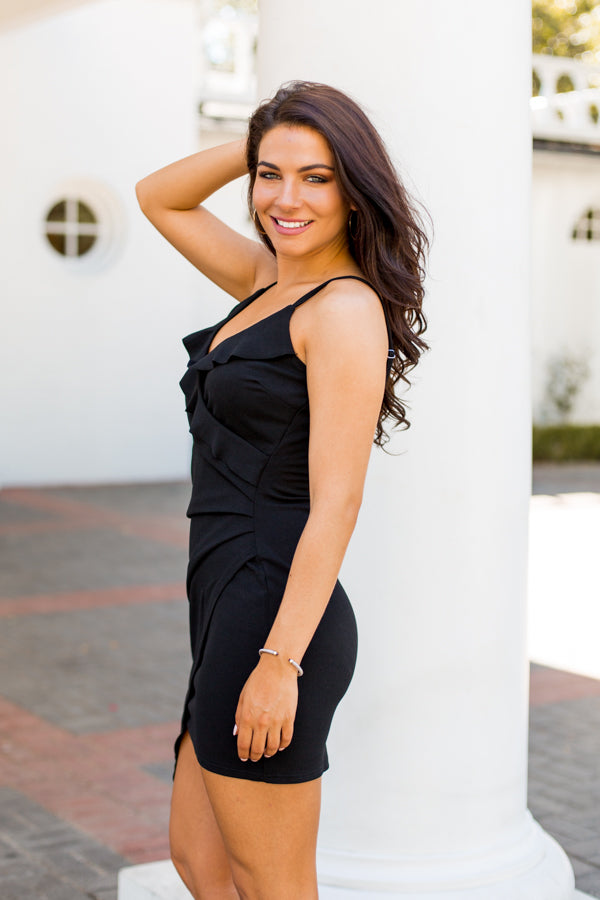 Vegas Baby Dress- Black