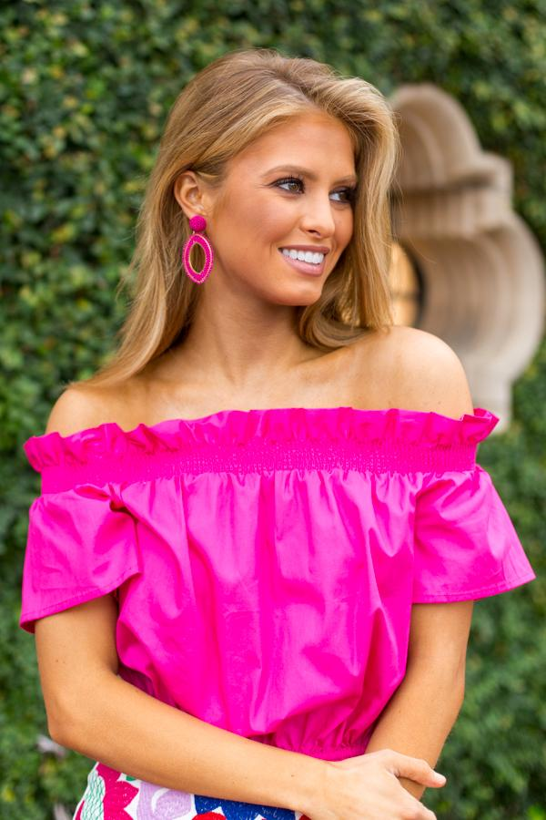 The Shelby Top- Pink
