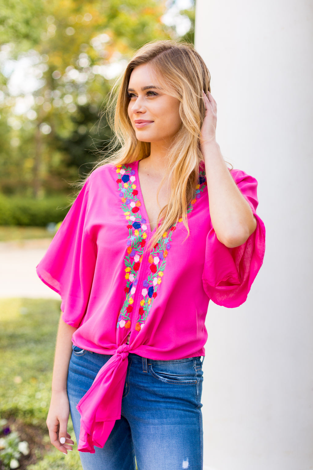 The Blair Top - Pink