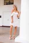 It's A Love Story Dress - White