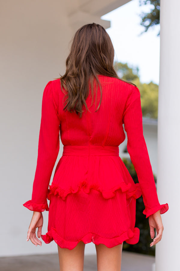 More Than A Moment Dress - Red
