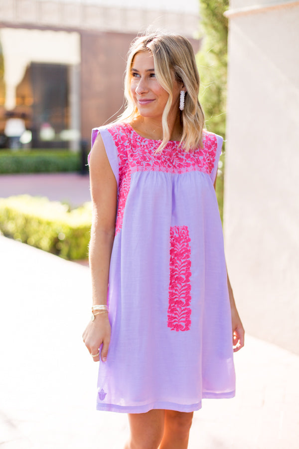 The Kylie Dress - Lilac