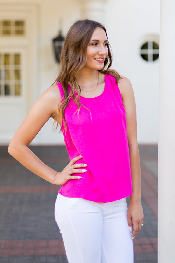 Feelin' Fuchsia Top