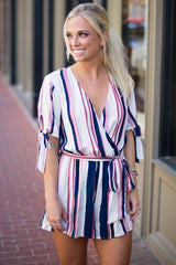 Show Your Stripes Romper