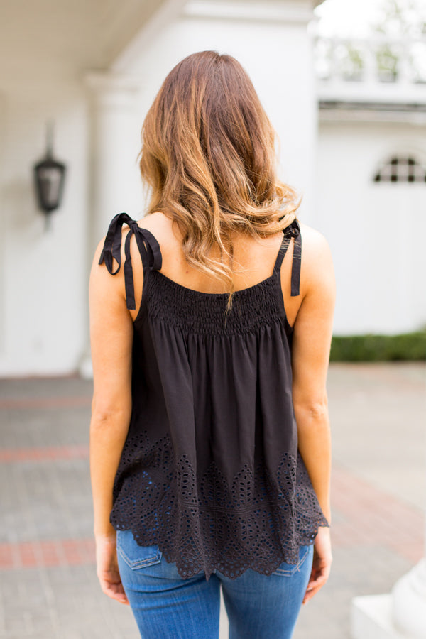 Lovers Lane Top- Black