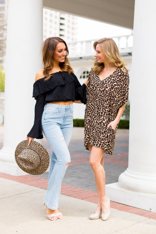 Cheetah Girl Dress- Leopard