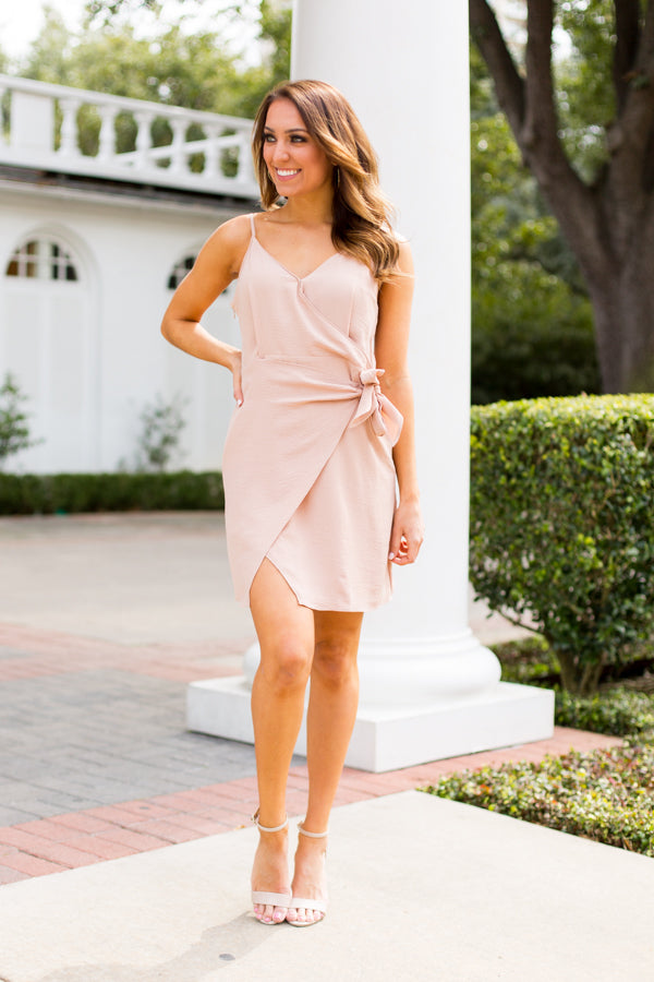 Wedding Guest Dress- Champagne