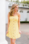 Darling Daisy Dress- Yellow