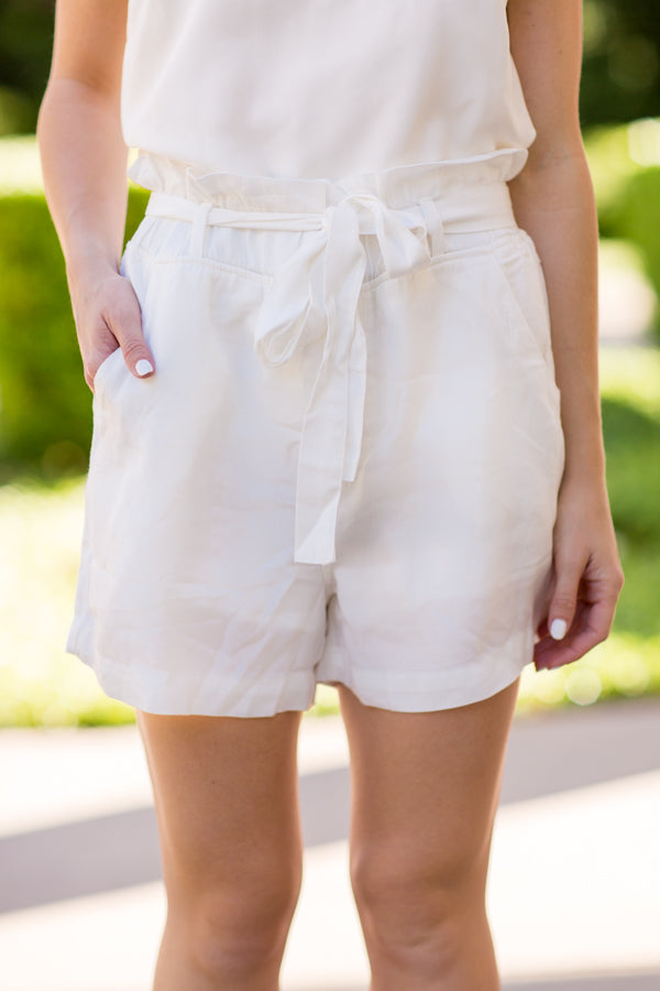 Hamptons Shorts - White