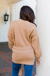 Go Natural Cardigan- Light Brown
