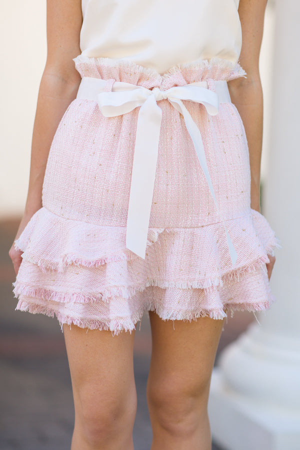 Simply Sweet Skirt- Pink