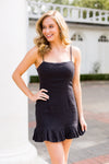 Flatter Yourself Dress- Black