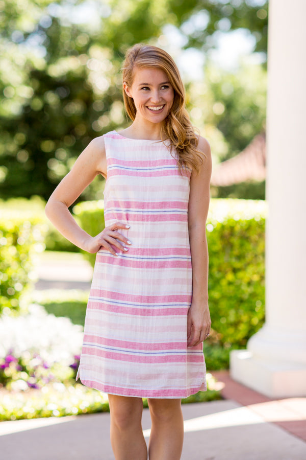 Escape To The Beach Dress - Coral Reef