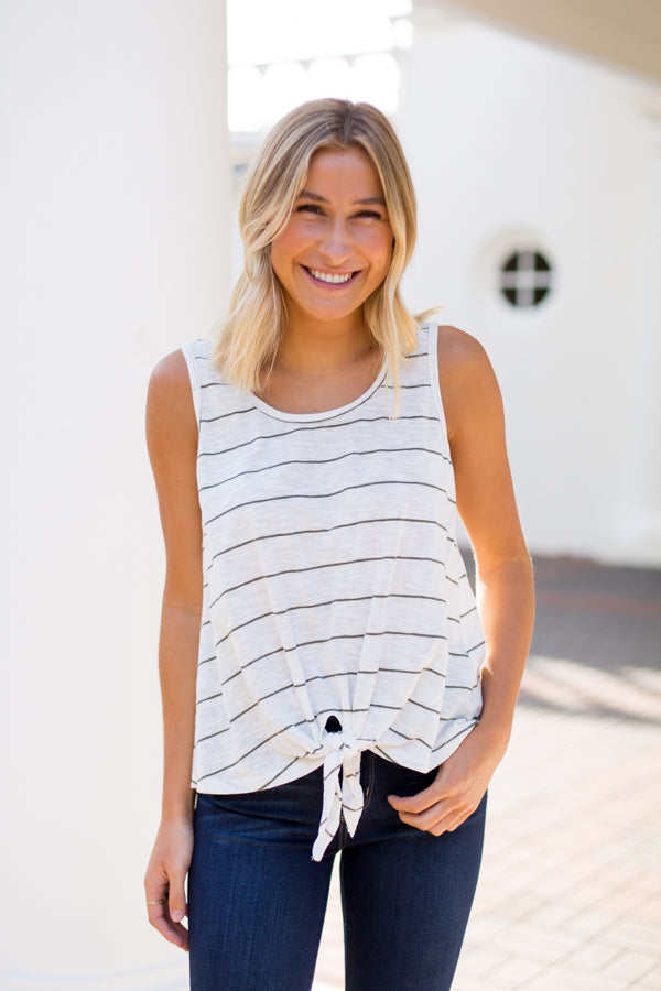 Casual Fridays Top- Ivory