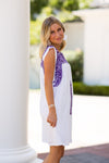The Jada Dress - Purple