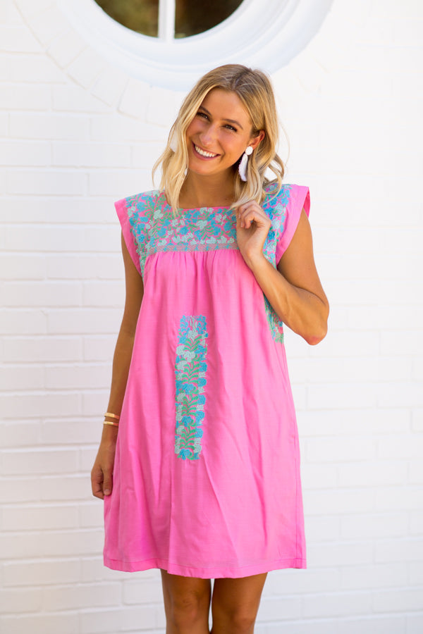 The Mandy Dress - Pink