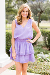 Tee Time Dress- Lavender