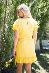 Good Morning Sunshine! Wrap Dress