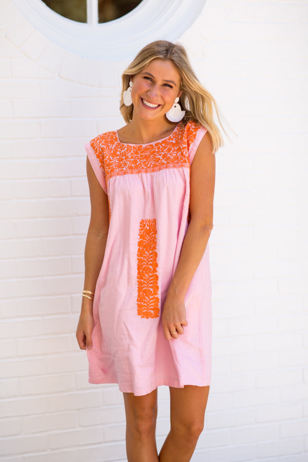 The Rae Dress - Light Pink