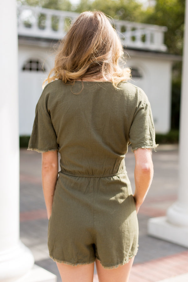 All About Olive Romper