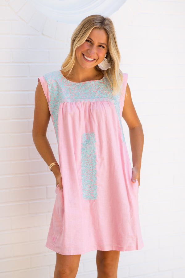 The Taylor Dress - Light Pink