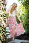 Enchanted Floral Maxi Skirt