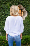 The Blair Top - White