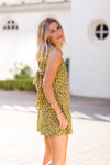 Party Animal Romper- Mustard