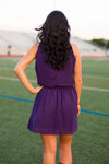 Feel The Flow Dress- Purple