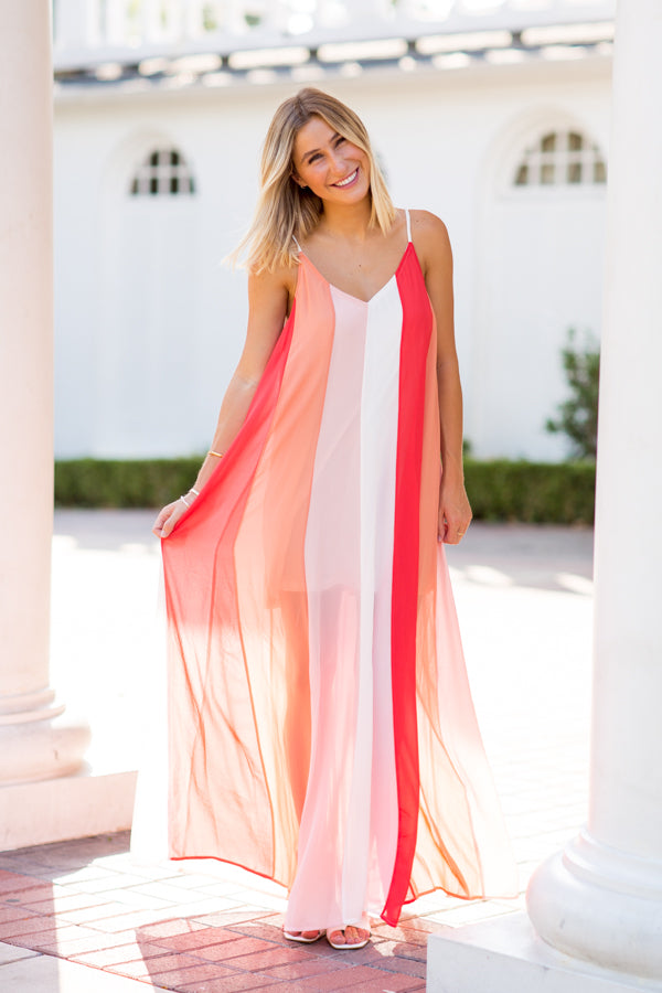 Sherbet For Sure Maxi- Coral