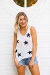 Stars The Limit Tank- Black