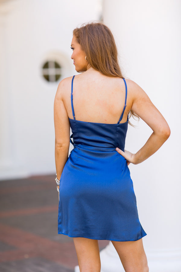 Dance With Me Dress - Azure Blue