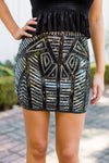 Great Gatsby Skirt- Black