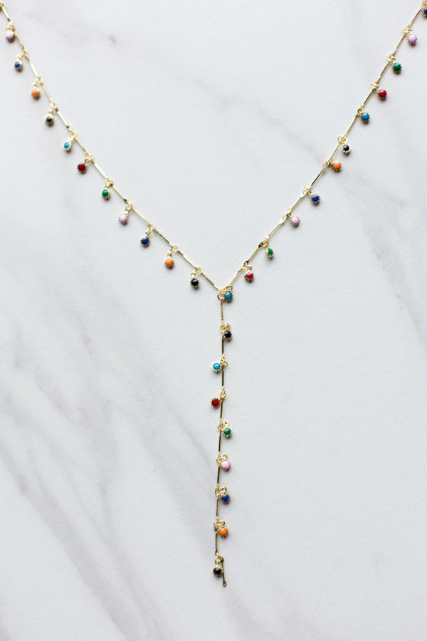 Drops of Rainbow Necklace