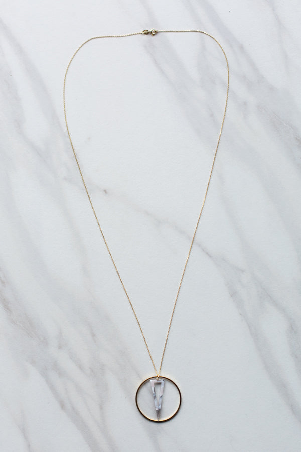 Candice Necklace- White