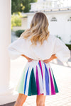 Colors Of The Wind Dress- Rainbow
